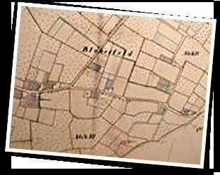 Grundstücksvermessung um 1838