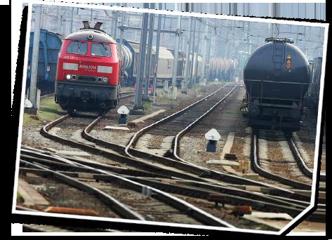Flächen der deutschen Bahn