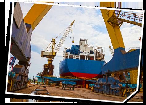 Werften für den Schiffbau
